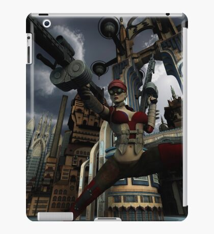 Steampunk Ursula iPad Case/Skin