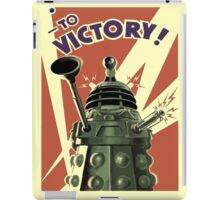Doctor Who Daleks to victory iPad Case/Skin
