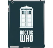 Doctor Who Tardis Logo iPad Case/Skin