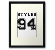 STYLES '94 Framed Print