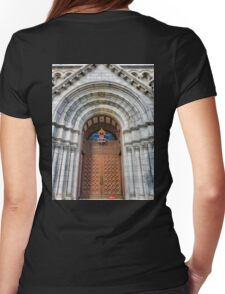 Cathedral Basilica of Saint Louis Study 10  Womens Fitted T-Shirt