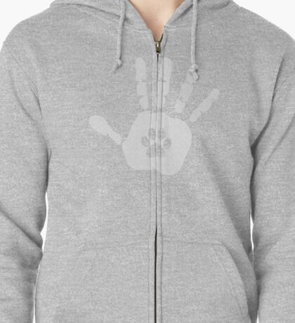 Hold Hands Zipped Hoodie