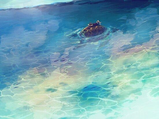 Sailing by banafria