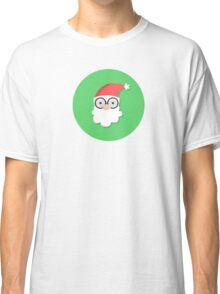 Santa on Green Classic T-Shirt