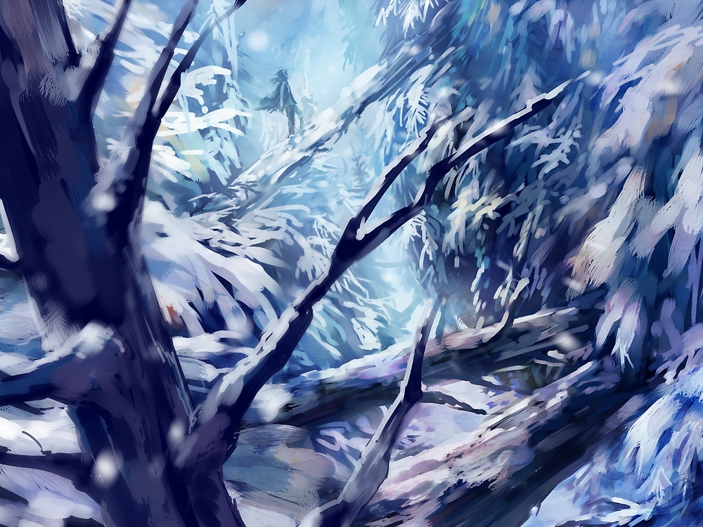 Midwinter by banafria