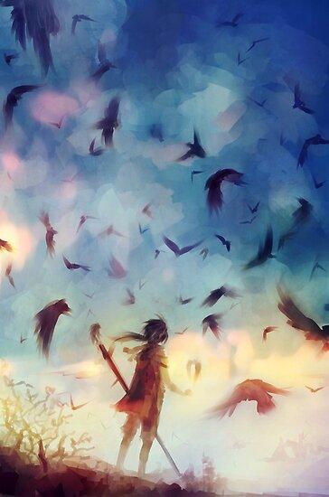 Flock by banafria