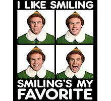 Ripple Junction Elf Smiling Buddy the Elf Photographic Print