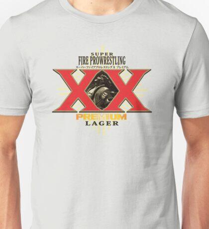 Super Fire Pro Wrestling PREMIUM LAGER Unisex T-Shirt