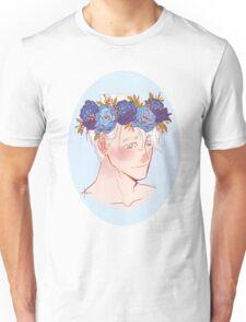 Viktor Nikiforov Flower Crown Unisex T-Shirt