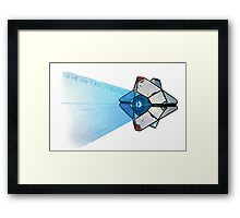 This Will Only Take A Minute.... Framed Print