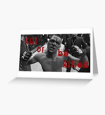 Nate diaz Greeting Card