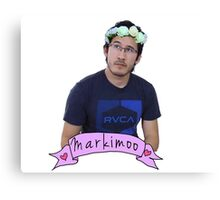 Markiplier (Level: Flower crown) Canvas Print
