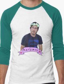 Markiplier (Level: Flower crown) Men's Baseball ¾ T-Shirt