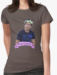Markiplier (Level: Flower crown) Womens Fitted T-Shirt