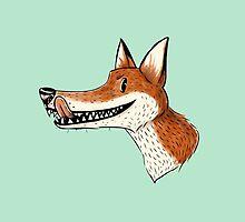Mr Fox by JustineSketchet