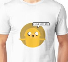 Jake the Loving Dog Unisex T-Shirt