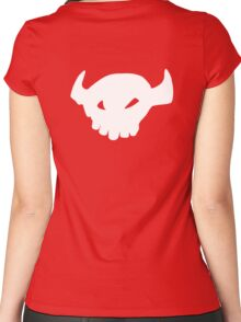 Toothless tail Women's Fitted Scoop T-Shirt