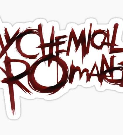 My Chem bloody logo Sticker
