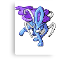 Legendary Suicune Canvas Print