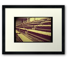 Sports Inspiration Not Whether You Win or Lose 3 Framed Print