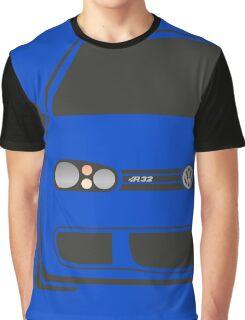 MK4 R32 Half Cut Graphic T-Shirt