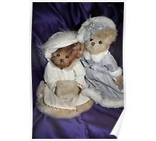 Two Beary Fine Ladies Poster