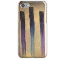 Brush stroke iPhone Case/Skin