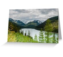 Hungry Horse Reservoir Greeting Card
