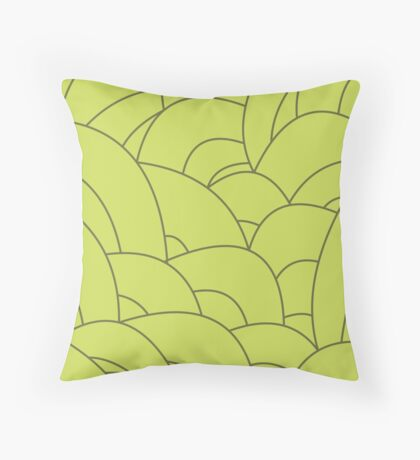 scale texture v4 Throw Pillow