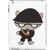 Rapper Cat in Bell Hat iPad Case/Skin