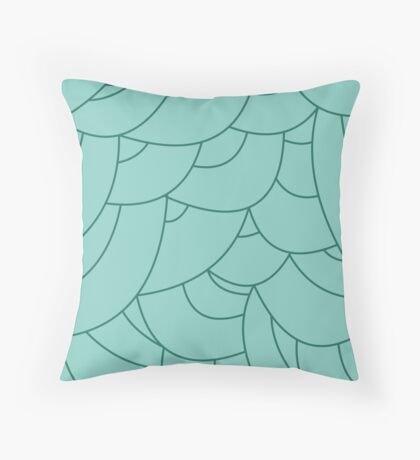 scale texture v5 Throw Pillow