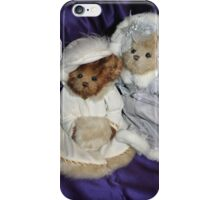 Two Beary Fine Ladies iPhone Case/Skin