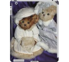 Two Beary Fine Ladies iPad Case/Skin