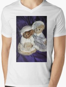 Two Beary Fine Ladies Mens V-Neck T-Shirt
