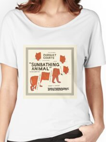 Parquet Courts - Sunbathing Animal Women's Relaxed Fit T-Shirt
