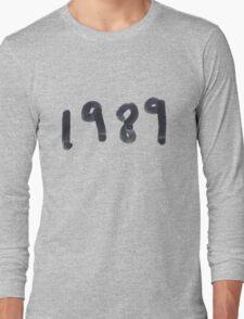 1989 Long Sleeve T-Shirt