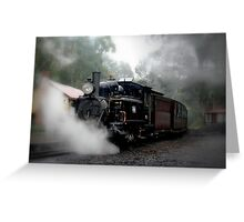 Billy in the Mist. Greeting Card