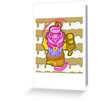 Majin's Chocolate Buu Cakes Greeting Card
