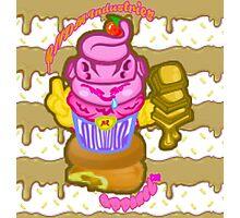 Majin's Chocolate Buu Cakes Photographic Print