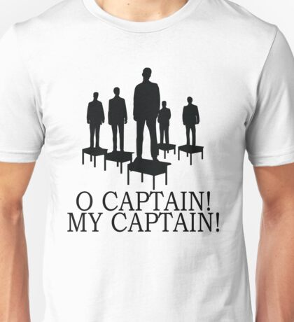 Dead Poets Society - O Captain My Captain Unisex T-Shirt