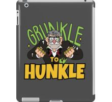 Grunkle to Hunkle iPad Case/Skin