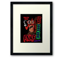 Foxy Sees You! Framed Print