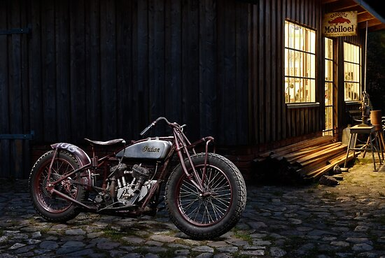 Indian 101 Scout Bobber by Frank Kletschkus