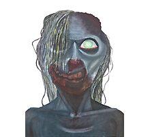 zombie portrait Photographic Print