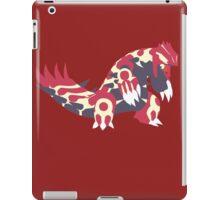 Primal Groudon Minimalist iPad Case/Skin