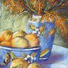 Grevillea, oranges & lemons by Terri Maddock