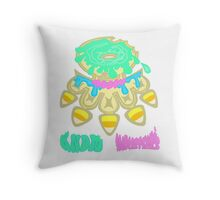 Brass Dunky! Throw Pillow
