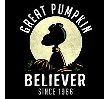 great pumpkin Photographic Print