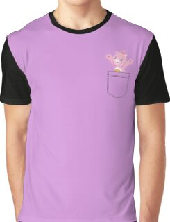 Pocket Carebears Graphic T-Shirt
