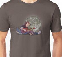 Howlin' at the Moon Unisex T-Shirt